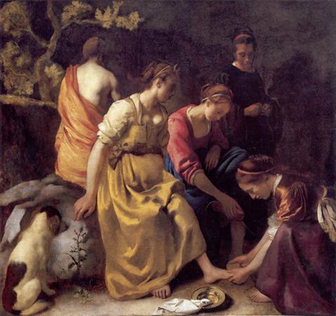 Diana y sus acompañantes, 1655-1656