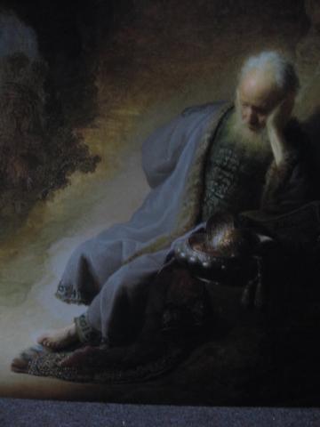 Jeremías Afligido por la Destrucción de Jerusalén, 1630