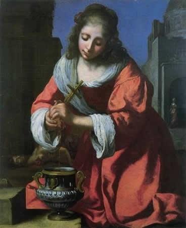 Santa Práxedes, 1655