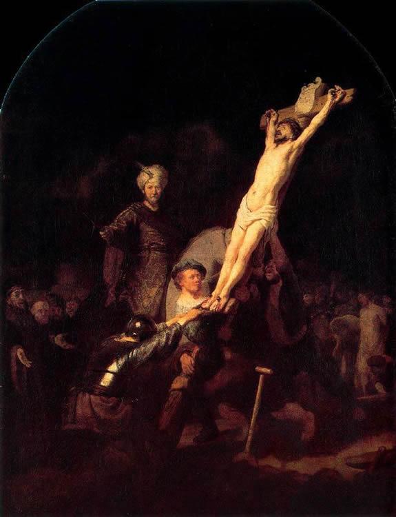 La Erección de la Cruz, 1633