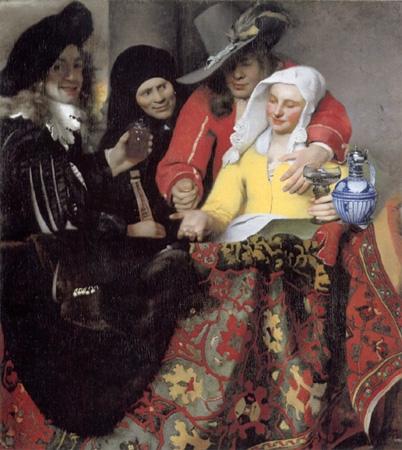 La Alcahueta, 1656