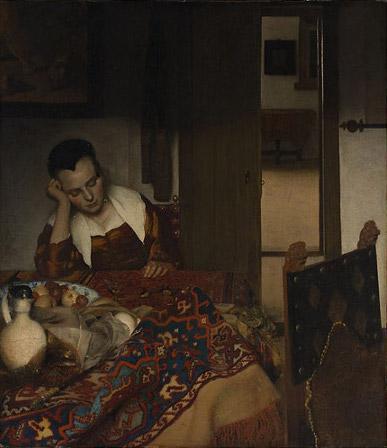 La joven dormida, 1657