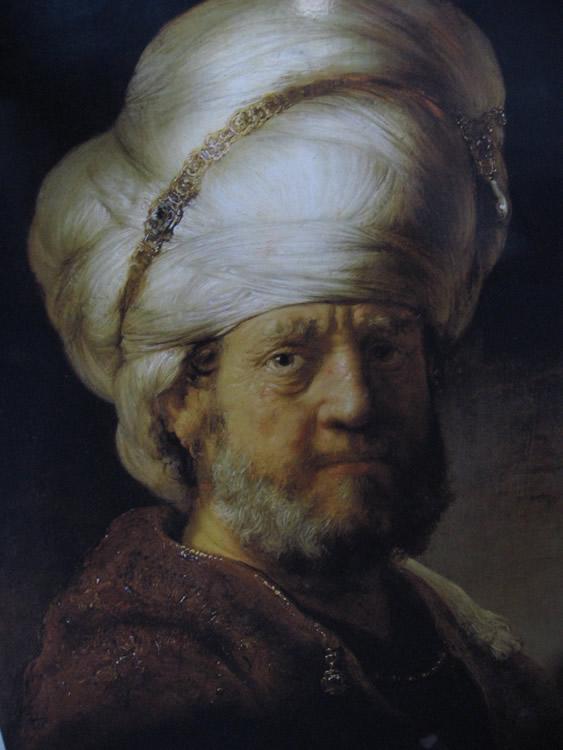 Hombre Vestido Oriental, 1635