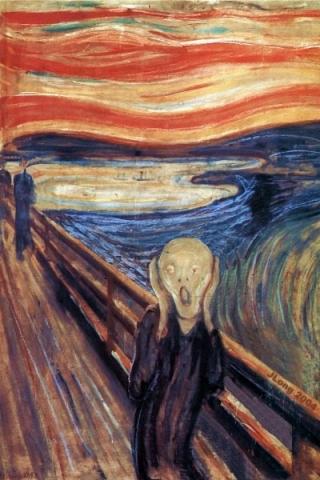 El Grito, 1895, Edvard Munch