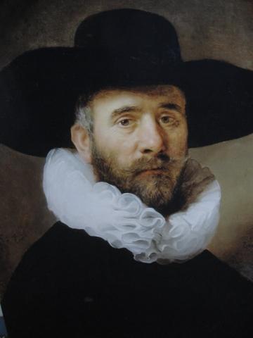 Retrato de Dirk Jansz Pesser, 1634