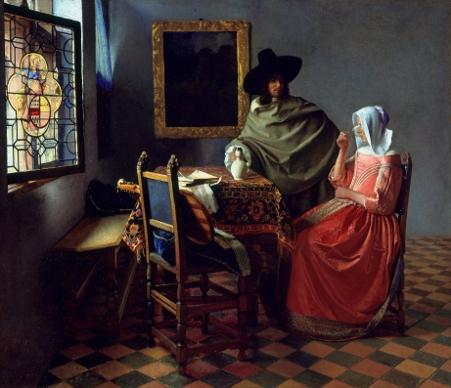 El vaso de vino, 1659 – 1660