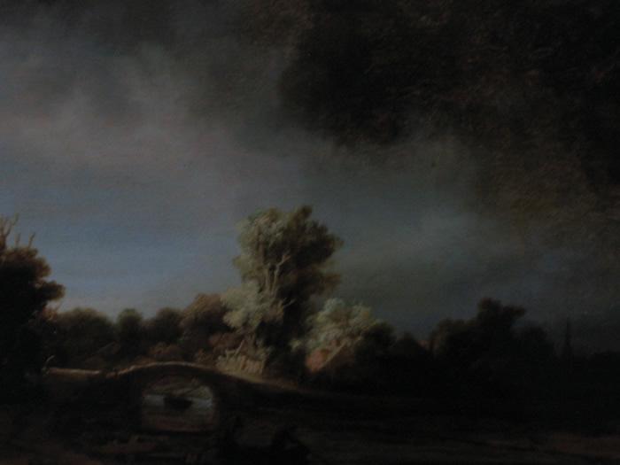 Paisaje con Puente de Piedra, 1638