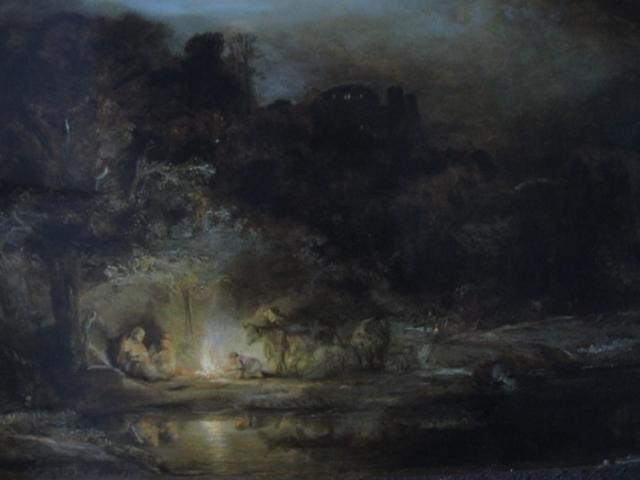 Descanso en la Huida hacia Egipto, 1647