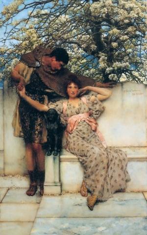 Promesa de Primavera (Opus CCCIII), 1890 Sir Lawrence Alma-Tadema