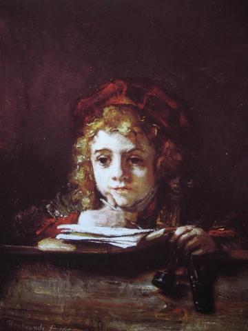Titus Estudiando, 1655