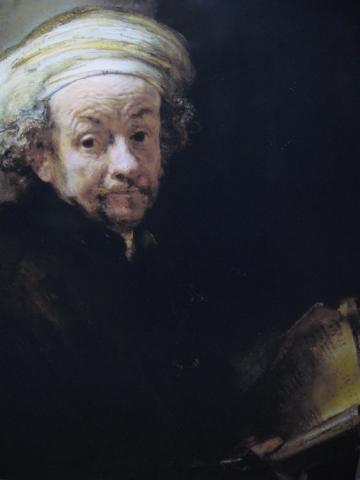 Autorretrato como el Apóstol Pablo, 1661