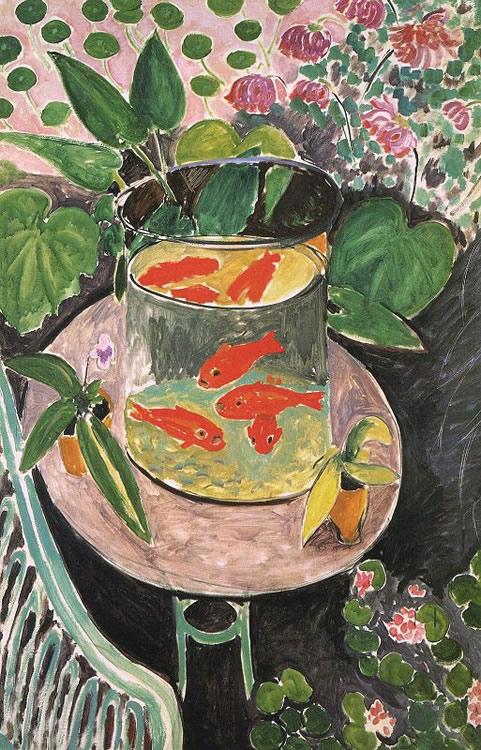 Naturaleza Muerta con Pez Dorado, 1911, Henri Matisse