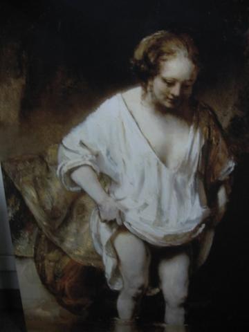 Mujer Bañándose en un Río, 1654