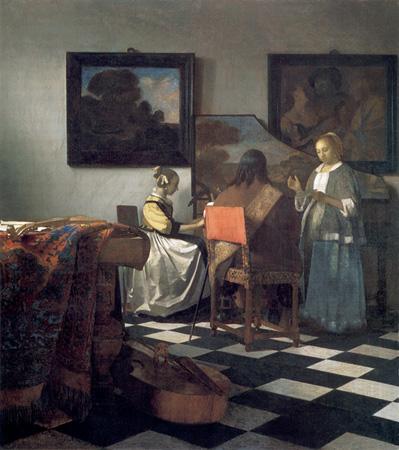 El concierto, 1664