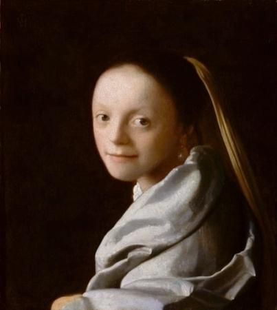 Retrato de muchacha, 1666-1667