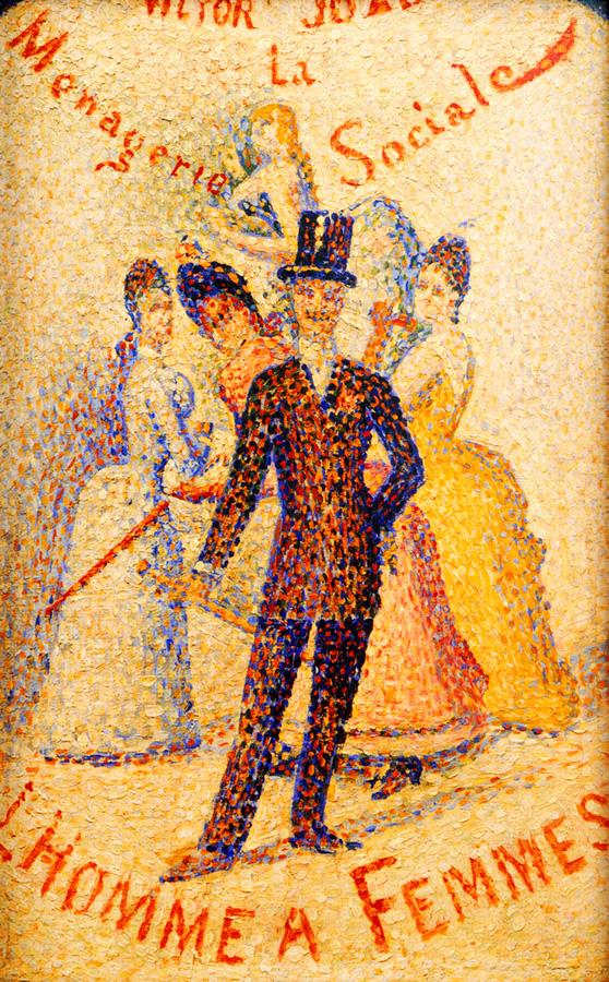 El Conquistador, h. 1887, Georges Seurat