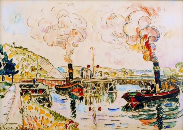 Rolleboise, 1922, Paul Signac