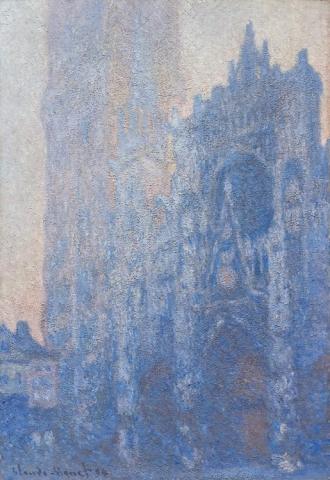 La Catedral de Rouen al Amanecer, 1894, Claude Monet