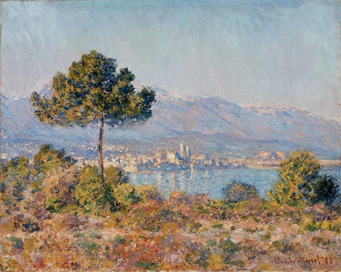 Antibes visto desde la Meseta de Notre Dame, 1888, Claude Monet