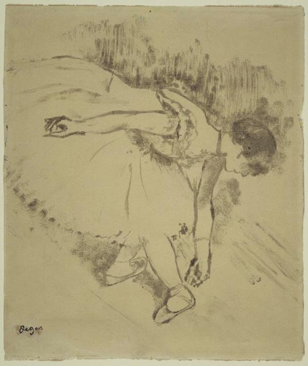 Bailarina, 1878,  Edgar Degas