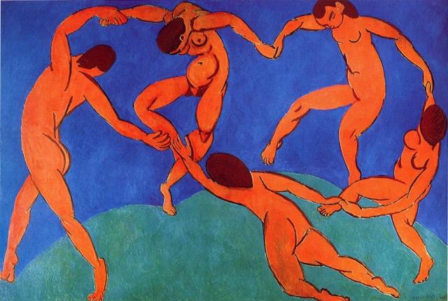 Nastursias y la Danza, 1912, Henri Matisse