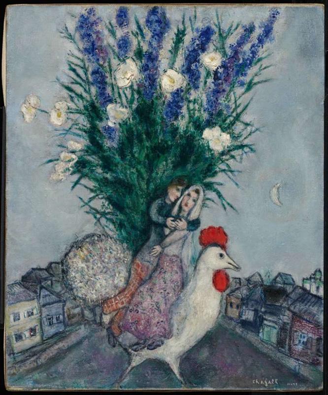 Calle de Villorrio, 1971, Marc Chagall