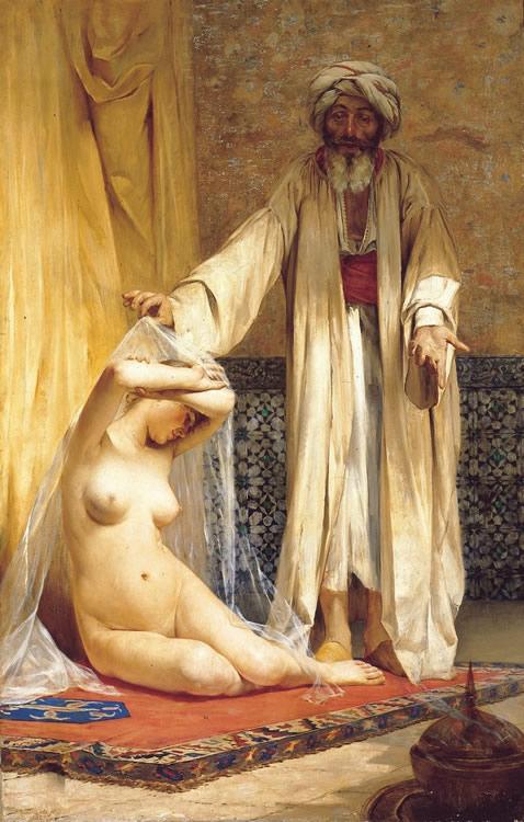 La Perla del Mercader, 1884, Alfredo Valenzuela Puelma