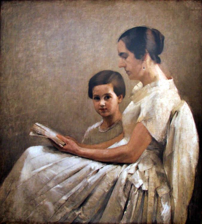 Madre e Hija, Julio Fossa Calderon