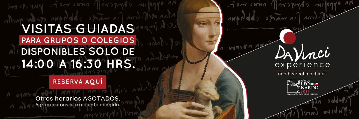 Reserva tu visita Guiada a Da Vinci Experience
